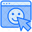 Happy Satisfaction Good Browser Icon