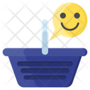 Happy Shopping Icon