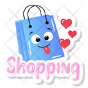 Happy Shopping Icon