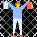 Shopping Boy Bag Icon
