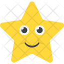 Happy Star Smiling Icon