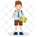 Student School Boy Icon