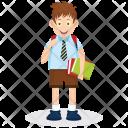 Happy Student Icon
