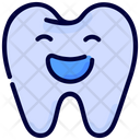 Happy Healthy Tooth Icon