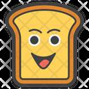 Happy Toast Icon