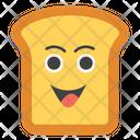 Happy Toast Emoji Icon