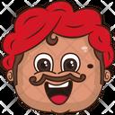 Happy Uncle Icon