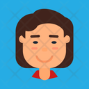 Flat Cartoon Diverse People Avatar Face Cartoon Business People Students And Office Worker Character Icon