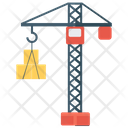 Crane Machine Cargo Construction Crane Icon