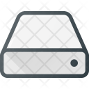 Hard Drive Disc Icon