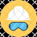Hard Hat Safety Icon