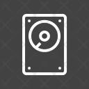 Hard Disk Circuit Icon