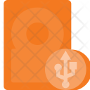 Hard External Usb Icon