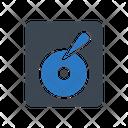 Harddisc Drive Storage Icon