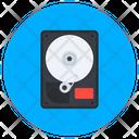 Hard Disc Data Transfer Data Storage Icon