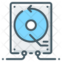 Hdd Backup System Hardware Icon