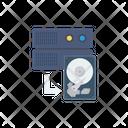 Hard Disk Server Storage Icon