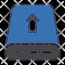 Harddisk Drive Upload Icon