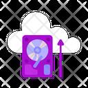 Hard Disk Hard Drive Storage Icon