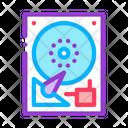 Hard Drive Disk Icon
