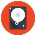 Hard Disk Data Drive Data Storage Icon