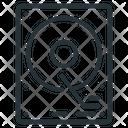 Hard Disk Hard Drive Backup System Icon