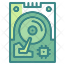 Hard Disk Storage Device Hard Drive Icon