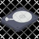 Hard Disk Drive Disc Data Transfer Icon