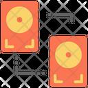 Hard Drive Technology Data Icon