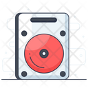 Hard Disk Hardware Disc Player Icon