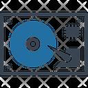 Computer Hardware Database Hard Disk Icon
