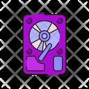 Hard Drive Hard Disk Hardware Icon