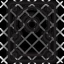 Hard Drive Disk Drive Icon