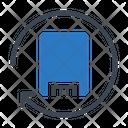 Harddrive Refresh External Icon