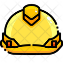 Hard Hat Protection Working Icon