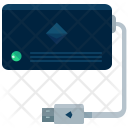 External Harddisk Icon