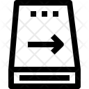 Harddisk Arrow Device Icon