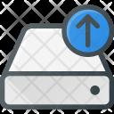 Harddisk Upload Drive Icon
