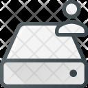 Harddrive Storage User Icon