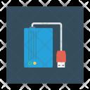 Hard Drive Storage Icon