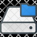 Harddrive Storage Folder Icon