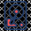 Harddrive Storage Portable Icon