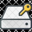 Harddrive Storage Key Icon