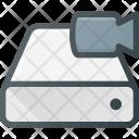 Harddrive Storage Video Icon
