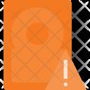 Hard Alert Storage Icon