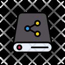 Harddrive Network Sharing Icon