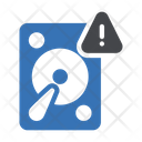 Harddrive Danger Virus Icon