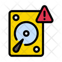 Harddrive Warning Icon