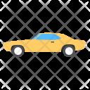 Hardtop Car Retro Icon