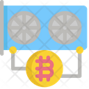 Hardware Bitcoin Cryptocurrency Icon